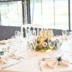 centre de table fleuri mariage