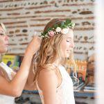 couronne de fleur mariage