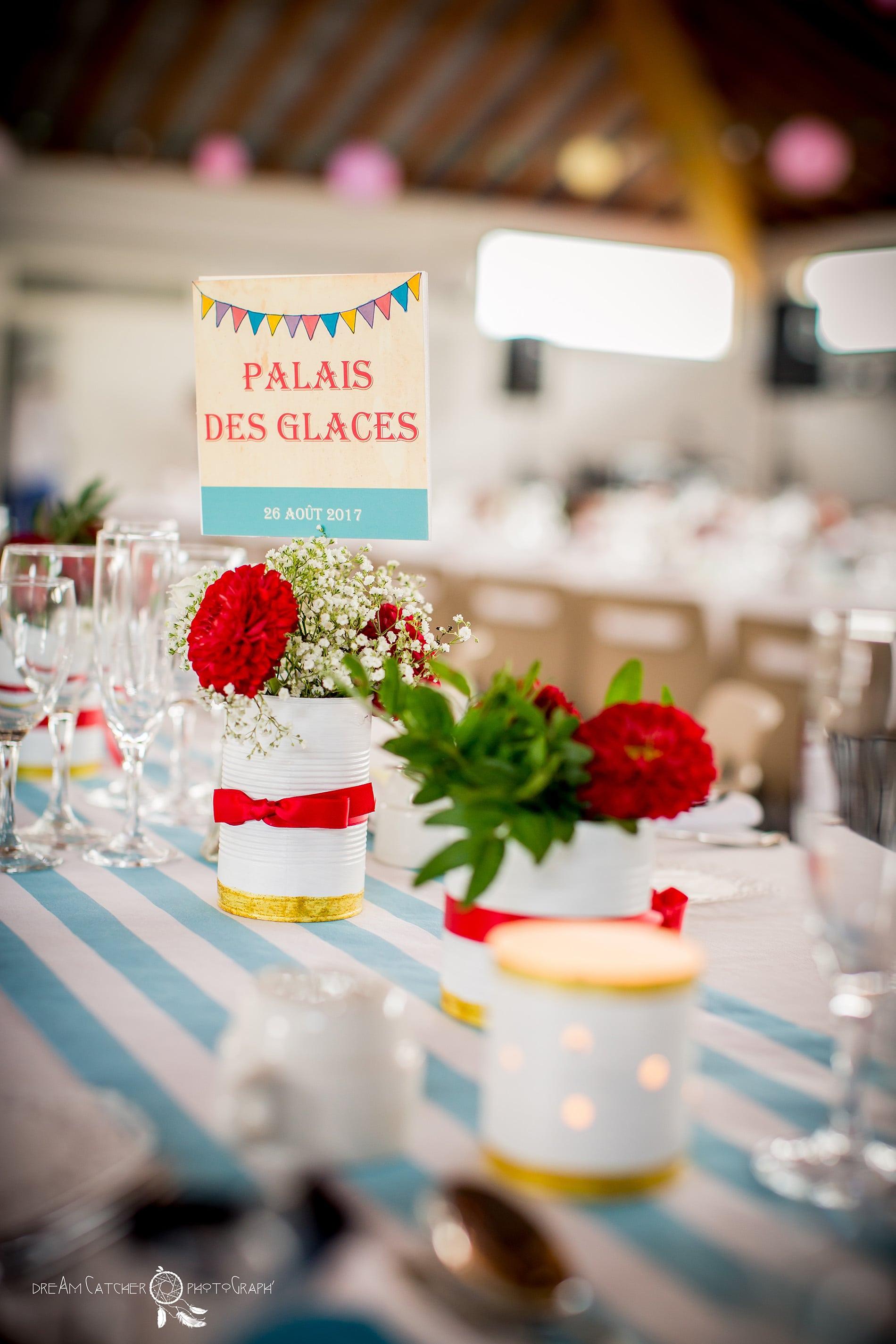 Le mariage th me f te foraine de graziella ludovic d coratrice de mariage biarritz bordeaux agen - Decoration table de fete ...