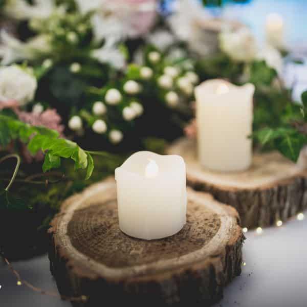 Décoration de mariage aurelie nicolas nature elegance - 12
