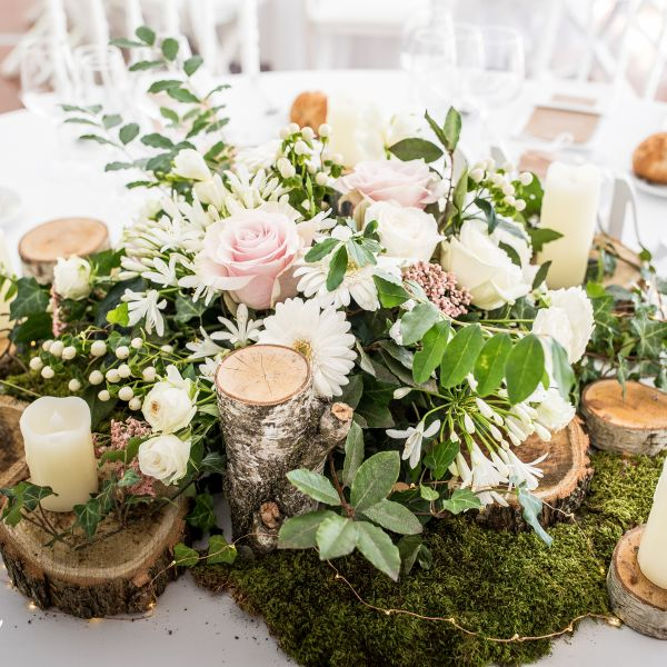 Décoration de mariage aurelie nicolas nature elegance - 18