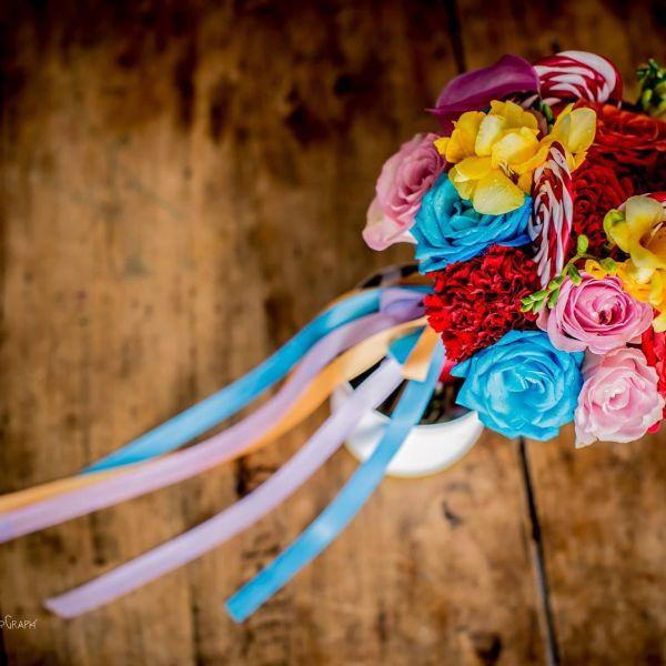 bouquet de mariee fete foraine