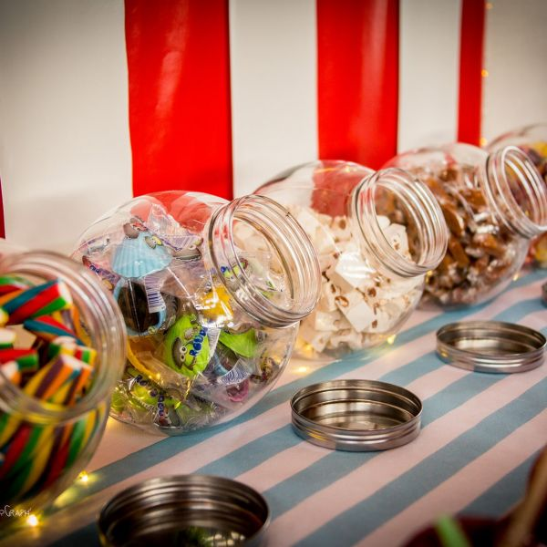 candy bar mariage theme fete foraine