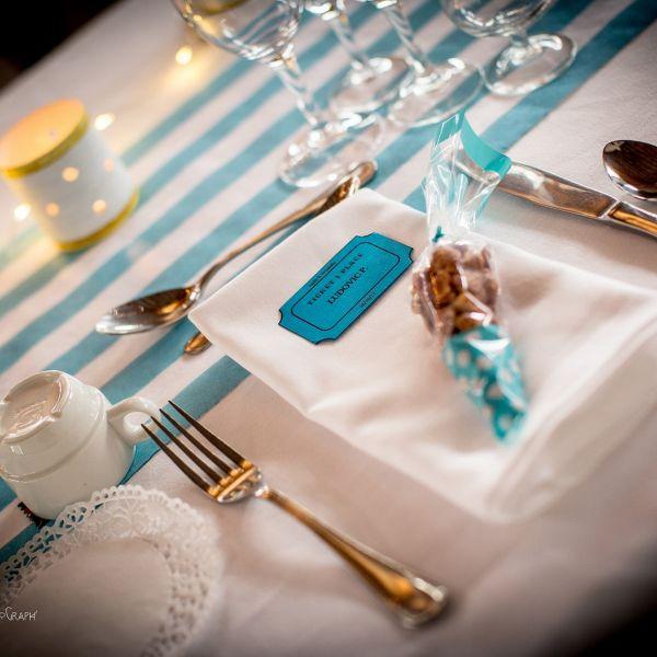 decoration mariage theme fete foraine tickets marque place