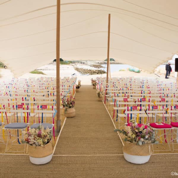 Décoration de mariage, La Cabane Bartherotte Cap-Ferret-3