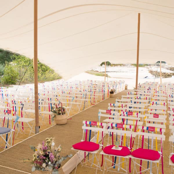 Décoration mariage, La Cabane Bartherotte Cap-Ferret-5