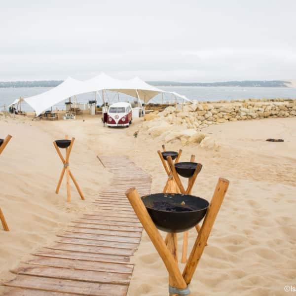 Décoration mariage, La Cabane Bartherotte Cap-Ferret-8