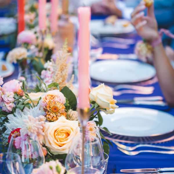 Mariage à Chantaco scénographié par Pastel Créatif - Table des invités